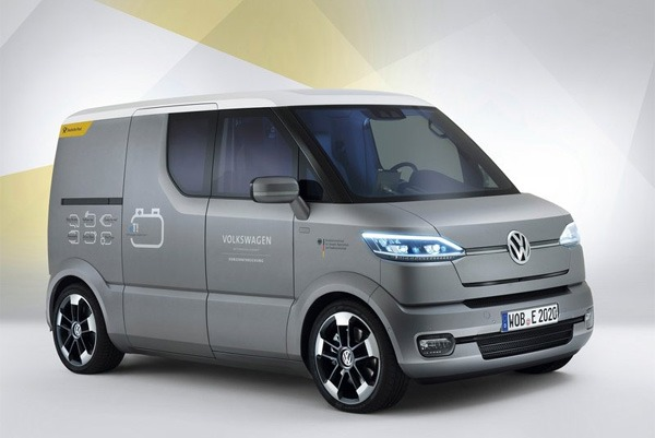 volkswagen électrique utilitaire